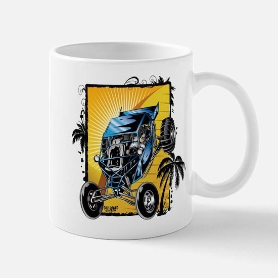 Blue Dune Buggy Mugs