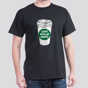 Lahge Regulah Cawfee T-Shirt