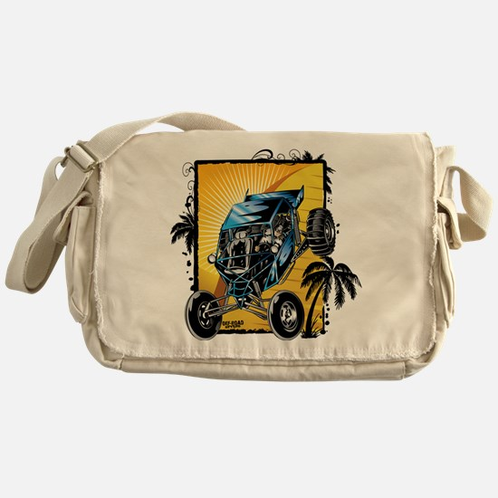 Blue Dune Buggy Messenger Bag