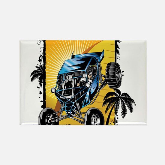 Blue Dune Buggy Magnets
