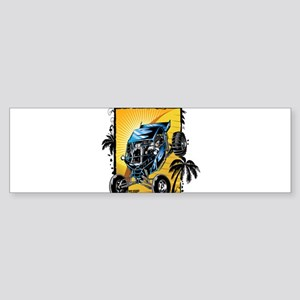 Blue Dune Buggy Bumper Sticker