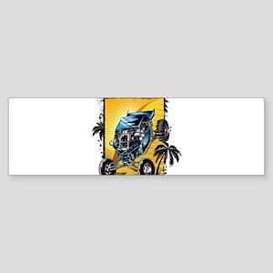 Blue Dune Buggy Bumper Sticker