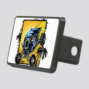 Blue Dune Buggy Rectangular Hitch Cover