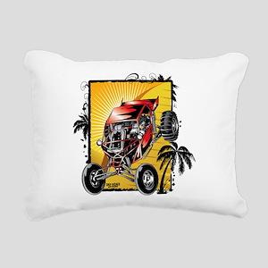 Desert Sand Buggy Rectangular Canvas Pillow