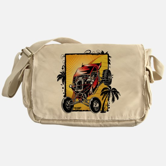 Desert Sand Buggy Messenger Bag