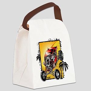 Desert Sand Buggy Canvas Lunch Bag