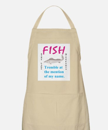 Fish Tremble BBQ Apron