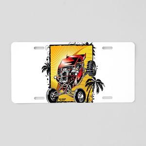 Desert Sand Buggy Aluminum License Plate