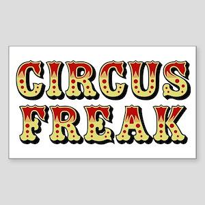 CIRCUS FREAK Rectangle Sticker