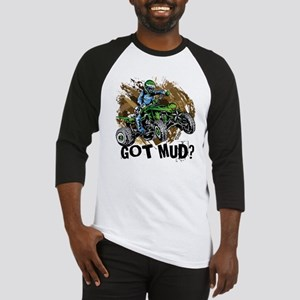 Got Mud ATV Quad Baseball Jersey