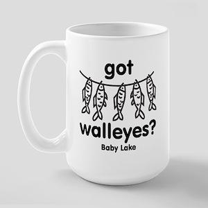 Got Walleyes? Large Mug