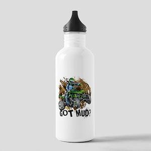 Got Mud ATV Quad Stainless Water Bottle 1.0L