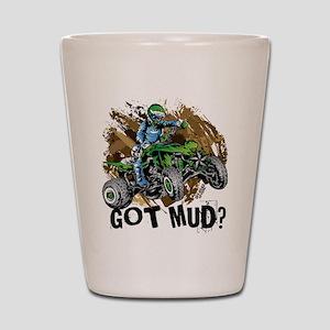 Got Mud ATV Quad Shot Glass