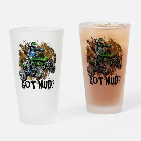 Got Mud ATV Quad Drinking Glass