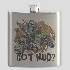 Got Mud ATV Quad Flask