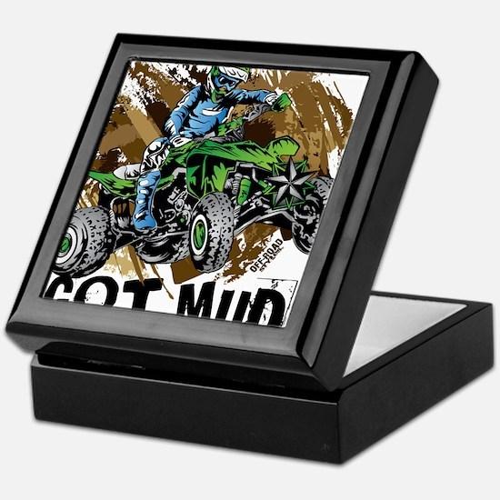 Got Mud ATV Quad Keepsake Box