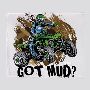 Got Mud ATV Quad Throw Blanket
