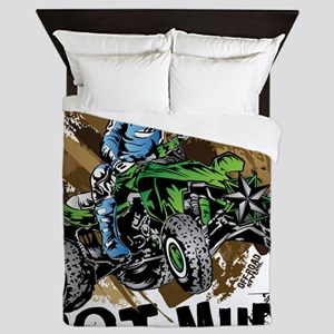 Got Mud ATV Quad Queen Duvet