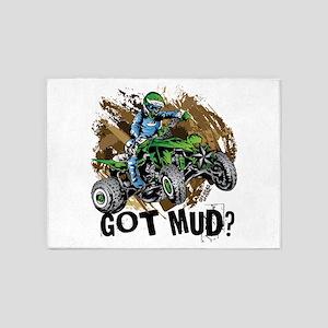 Got Mud ATV Quad 5'x7'Area Rug