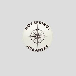 Hot Springs - Arkansas Mini Button