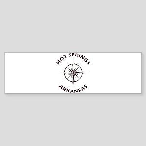 Hot Springs - Arkansas Bumper Sticker