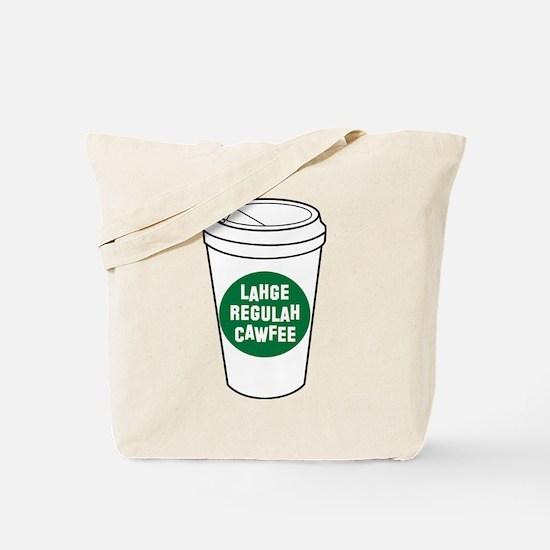 Lahge Regulah Cawfee Tote Bag