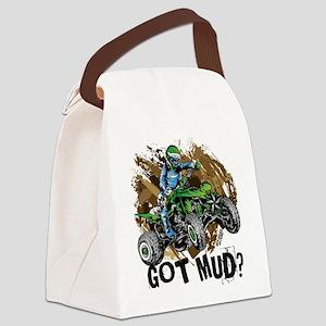 Got Mud ATV Quad Canvas Lunch Bag