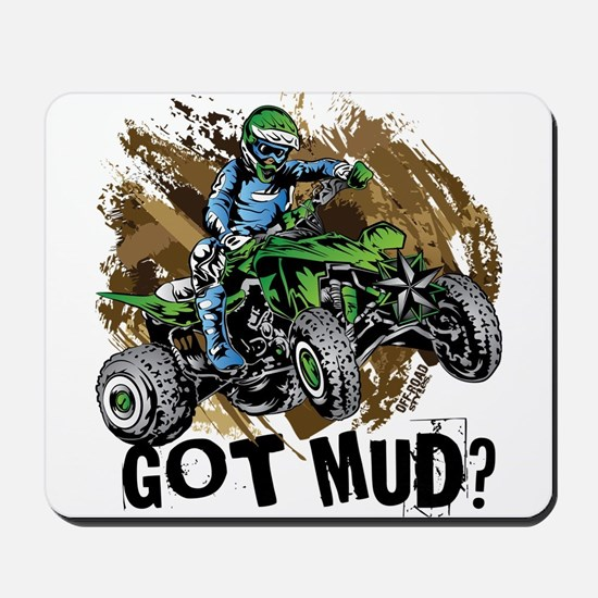 Got Mud ATV Quad Mousepad