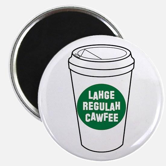 Lahge Regulah Cawfee Magnets