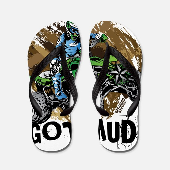 Got Mud ATV Quad Flip Flops