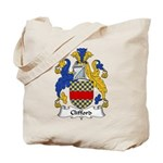 Clifford Family Crest  Tote Bag