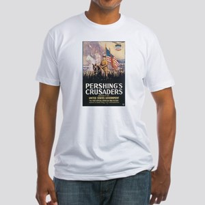 Pershing's Crusaders Fitted T-Shirt