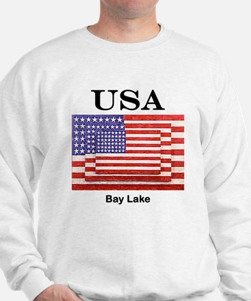 3 Flags USA Sweatshirt