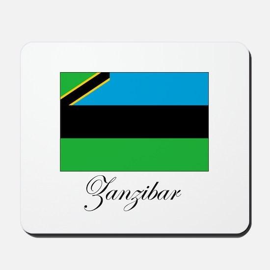 Zanzibar - Flag Mousepad