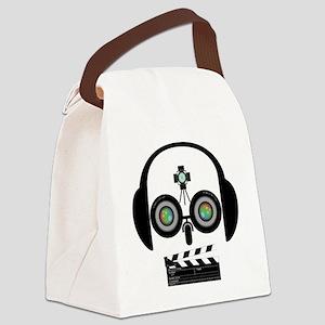 Indy Film Head Canvas Lunch Bag