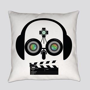 Indy Film Head Everyday Pillow