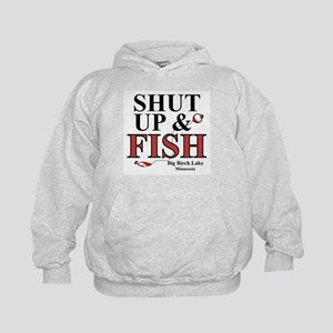 Shut Up & Fish Kids Hoodie