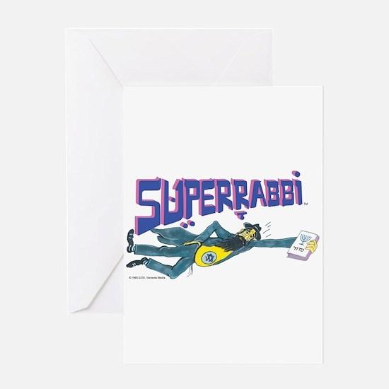 SUPERRABBI Greeting Card