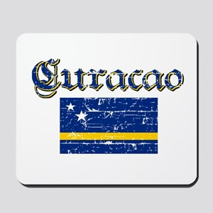 Curacao Flag Mousepad