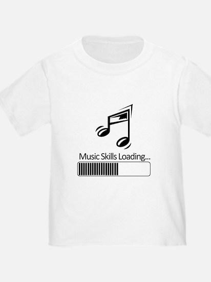 Music Skills Loading T-Shirt