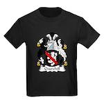 Churchill Family Crest Kids Dark T-Shirt