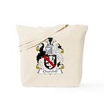 Churchill Family Crest Tote Bag
