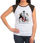 Churchill Family Crest Women's Cap Sleeve T-Shirt