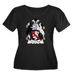 Churchill Family Crest Women's Plus Size Scoop Nec