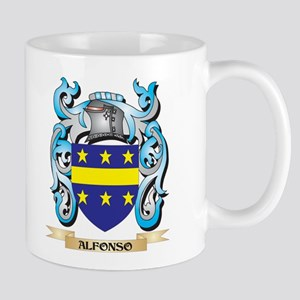 Alfonso Coat of Arms - Family Crest Mugs