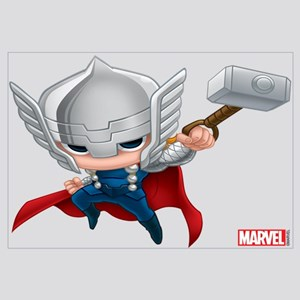 Thor Stylized 2 Wall Art