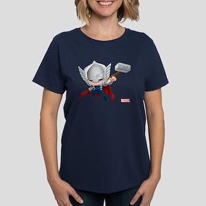 Thor Stylized 2 Women's Dark T-Shirt