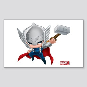 Thor Stylized 2 Sticker (Rectangle)