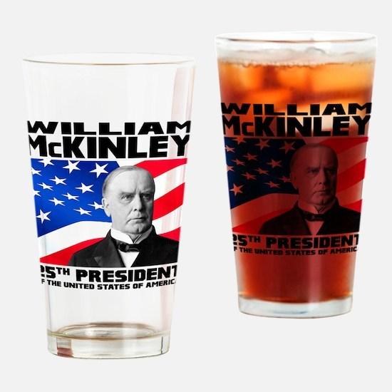 25 McKinley Drinking Glass