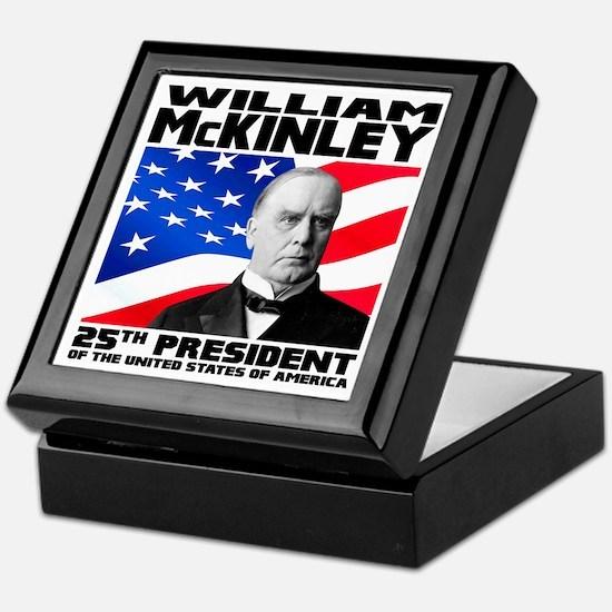 25 McKinley Keepsake Box